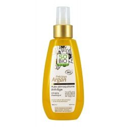 Aceite Desmaquillante Anti-edad SO' BIO étic 150 ml.