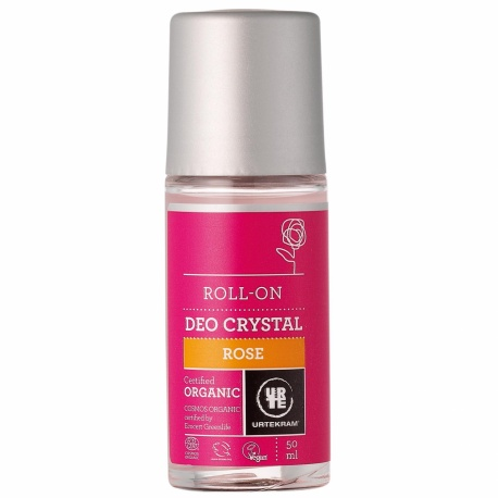 Desodorante Rosa Roll-On 50 Ml de Urtekram