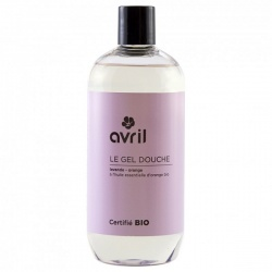 Gel de ducha Lavanda y Naranja  Avril  500 ml