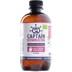 Kombucha rasperry 400ml Captain Kombucha