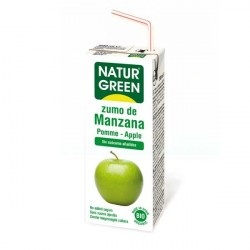 Zumo manzana 200ml Naturgreen