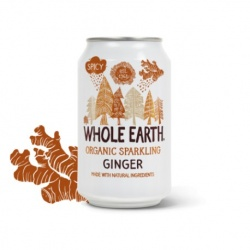 Refresco ginger 330ml Whole earth