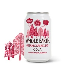 Refresco cola 330ml Whole earth