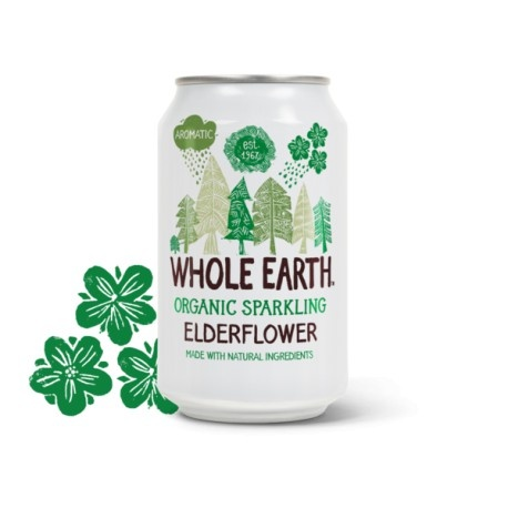 Refresco elderflower 330ml Whole earth