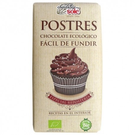 Chocolate Postres 200g Sole