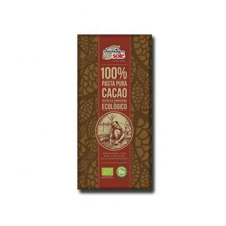 Chocolate 100%cacao 100g Sole