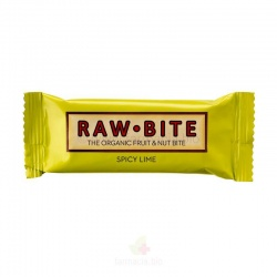 Barrita lima  50g Raw bite
