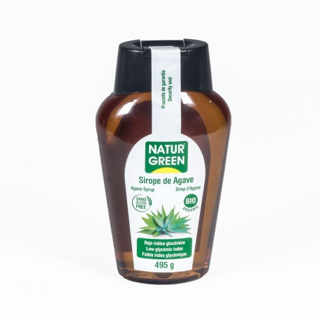 Sirope Agave 495g Naturgreen