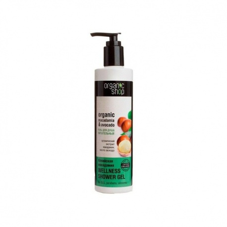 Gel ducha Nutritivo280ml Organic shop