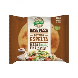 Base pizza espelta 3uds 390g Biocop