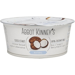 Yogurt coco natural 125ml Abbot kinneys