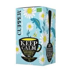 Infusion Keep Calm 20 bolsas Cupper