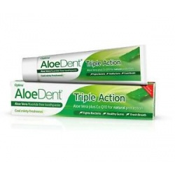 Dentifrico con Aloe VEra 100ml Triple Accion Aloe Dent