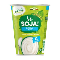 Yogur Soja natural 400g  Sojade