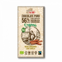 Chocolate negro con canela 100g Sole
