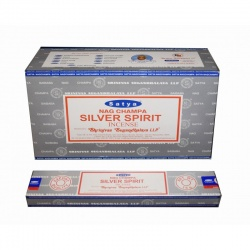 Incienso Silver Spirit 10 Varillas Satya